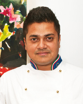 Kainaz Messman Harchandrai  Co-owner and Chef    Theobroma
