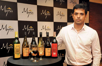 Myra Wines' Ajay Shetty, a young entrant on the Indian wine market