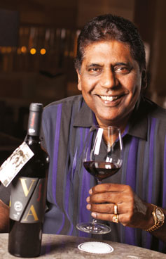 The Vijay Amritraj Reserve Collection is in tandem  with Grover Zampa  vineyards